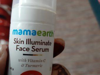 Mamaearth Skin Illuminate Face Serum With Vitamin C & Turmeric -Bright skin-By shivangani_