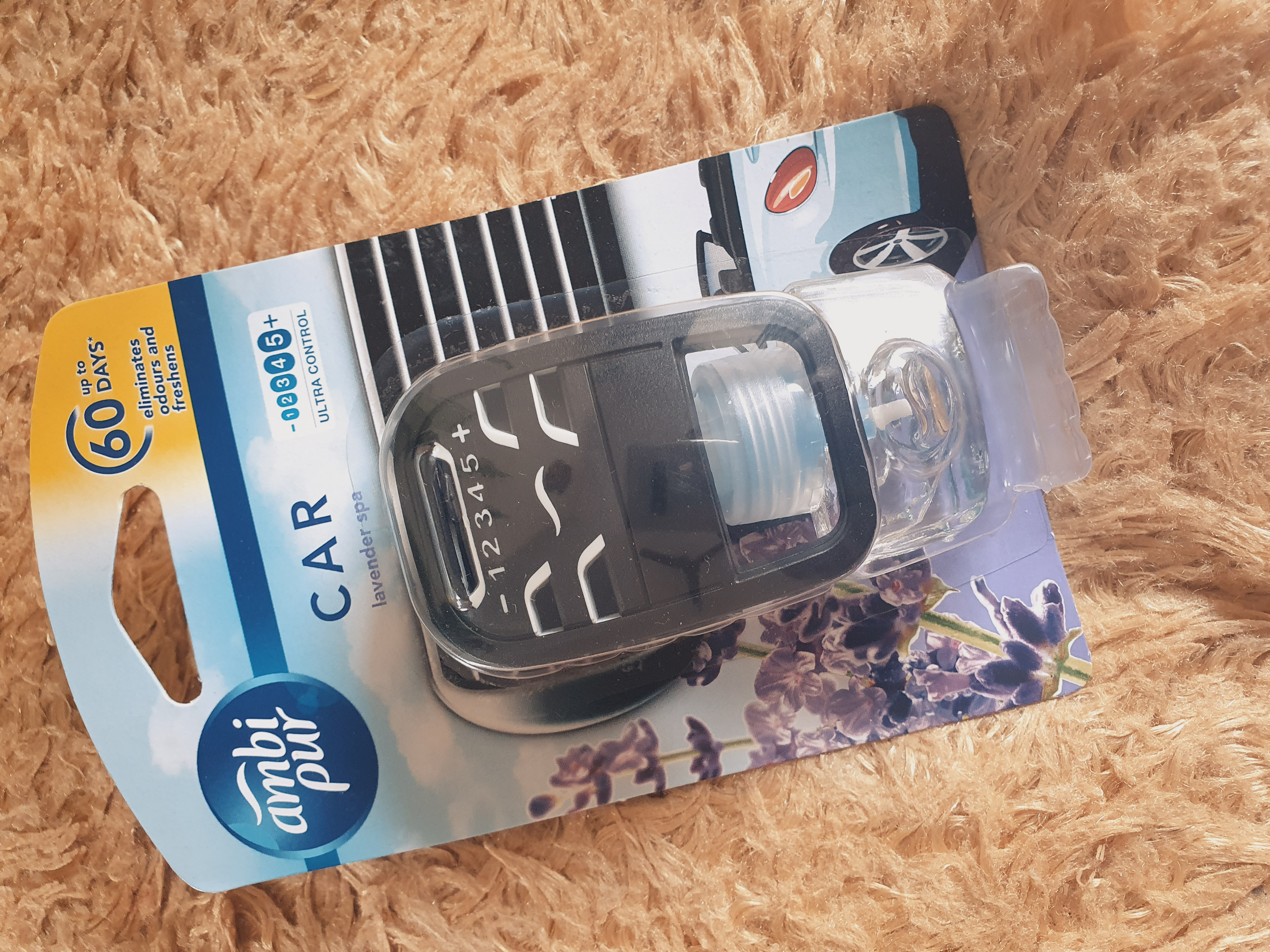 Ambipur Car Air Freshener Lavender Spa-Soothing and refreshing-By jyoti_s-3