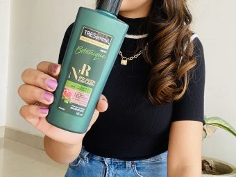 Tresemme Botanique Nourish And Replenish Shampoo -Silky smooth hair in one application-By beauty_by_ranjana