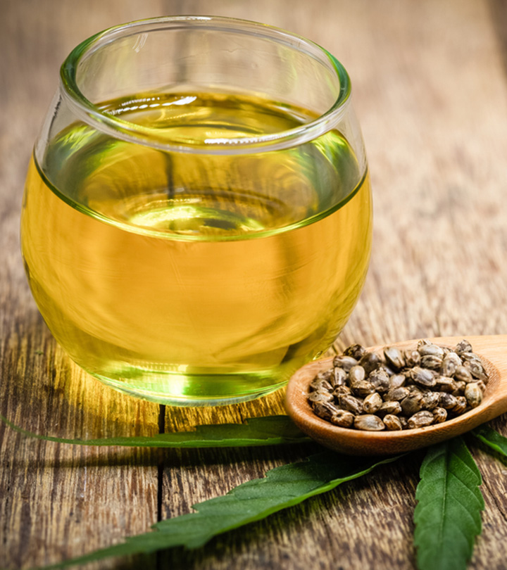 4 Benefits Of Hemp Seed Oil For Hair And How To Use It