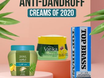 5 Best Anti-Dandruff Creams Of 2020