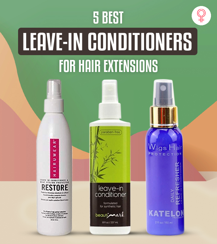 5 Best Leave-In Conditioners For Hair Extensions