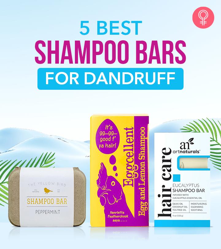5 Best Shampoo Bars Of 2021 For Dandruff