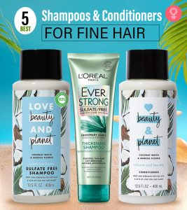 5 Best Shampoos And Conditioners For Fine Hair