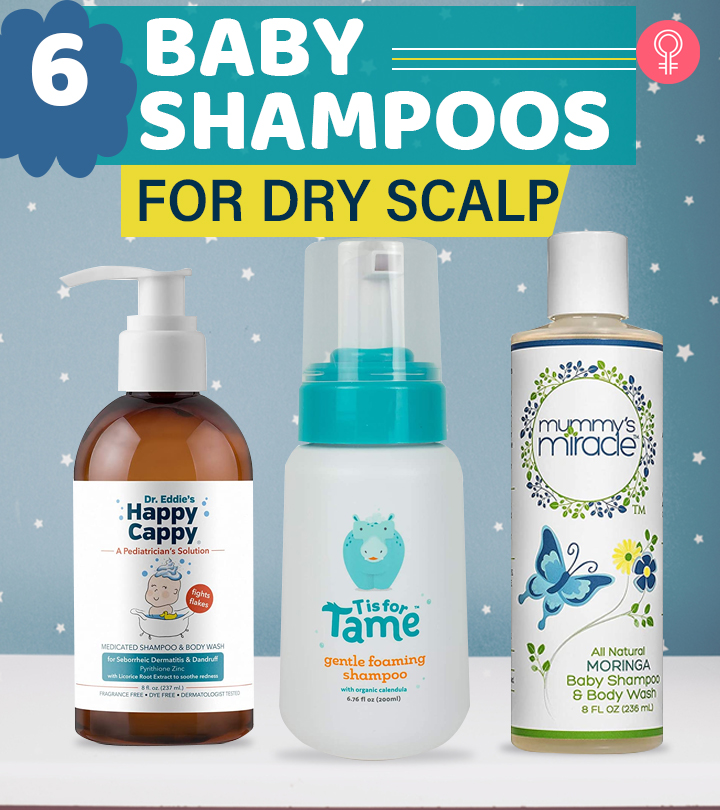 6 Best Baby Shampoos For Dry Scalp