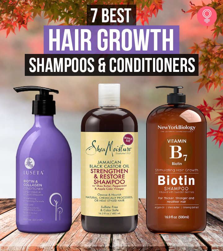 7 Best Hair Growth Shampoos And Conditioners Of 2020