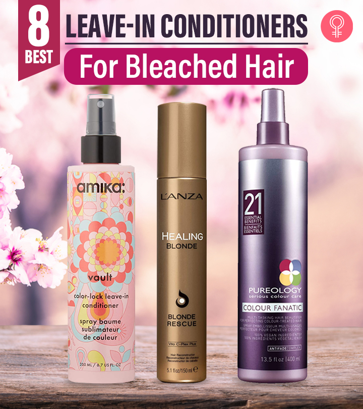 8 Best Leave-in Conditioners For Bleached Hair