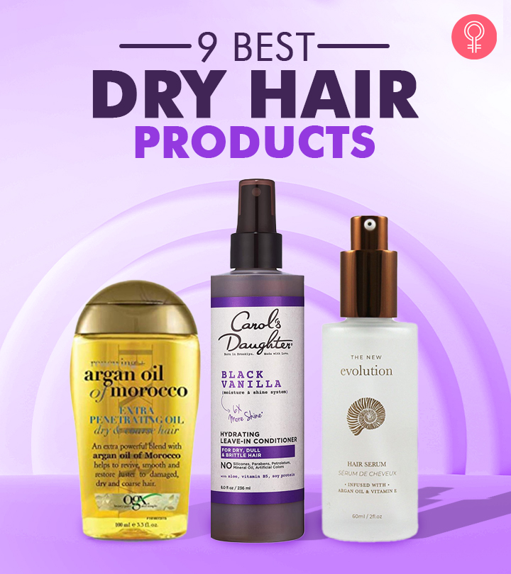 9 Best Dry Hair Products Of 2020