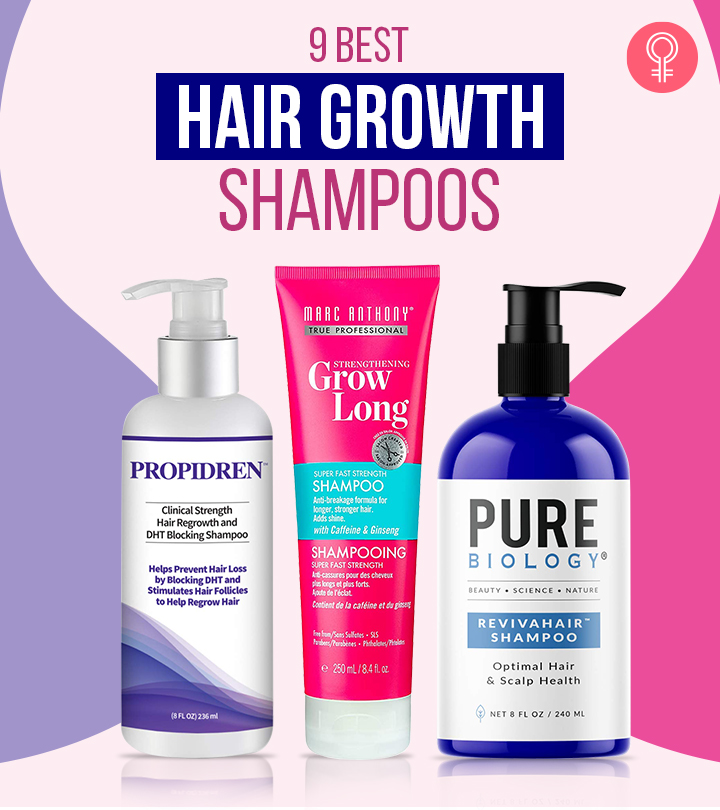9 Best Hair Growth Shampoos For Every Hair Type