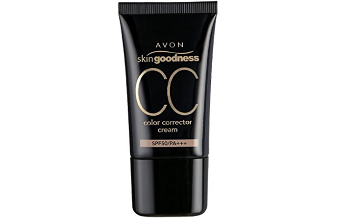Avon Skin Goodness Color Corrector Cream