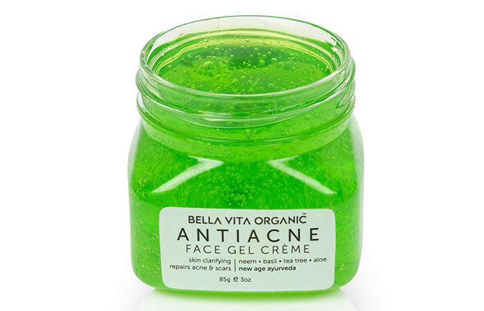 BELLA VITA ORGANIC Anti Acne Face Gel Crème