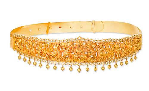 Bejeweled Waist Belt