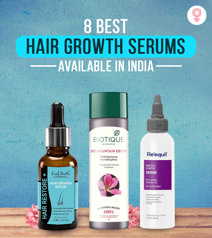 8 Best Hair Growth Serums Available In India