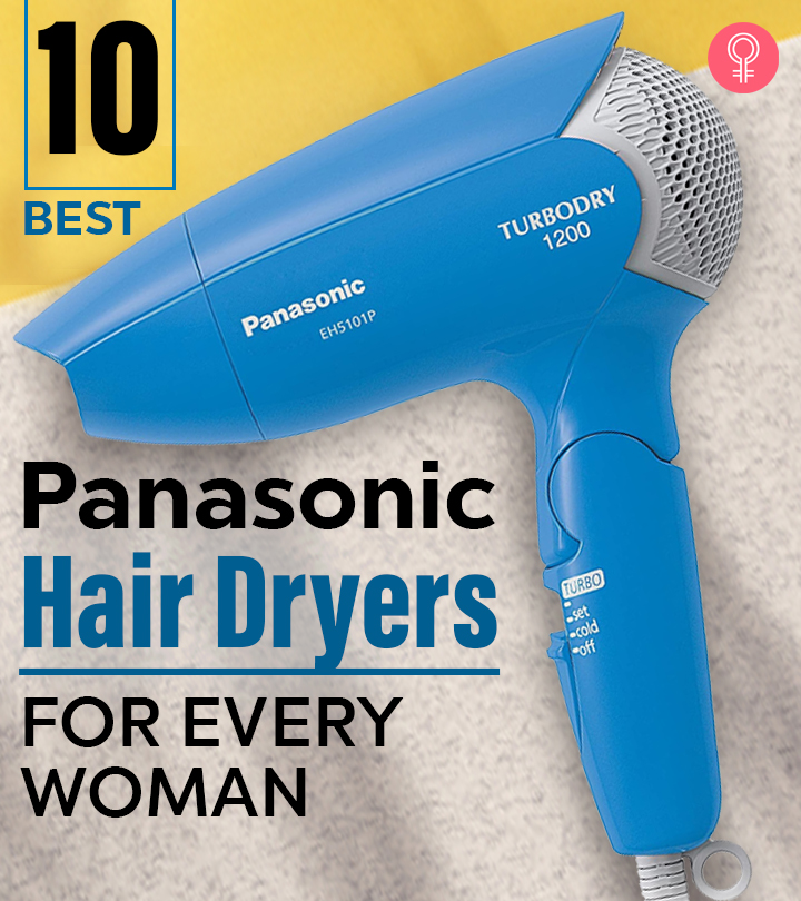 The 10 Best Panasonic Hair Dryers For Every Woman