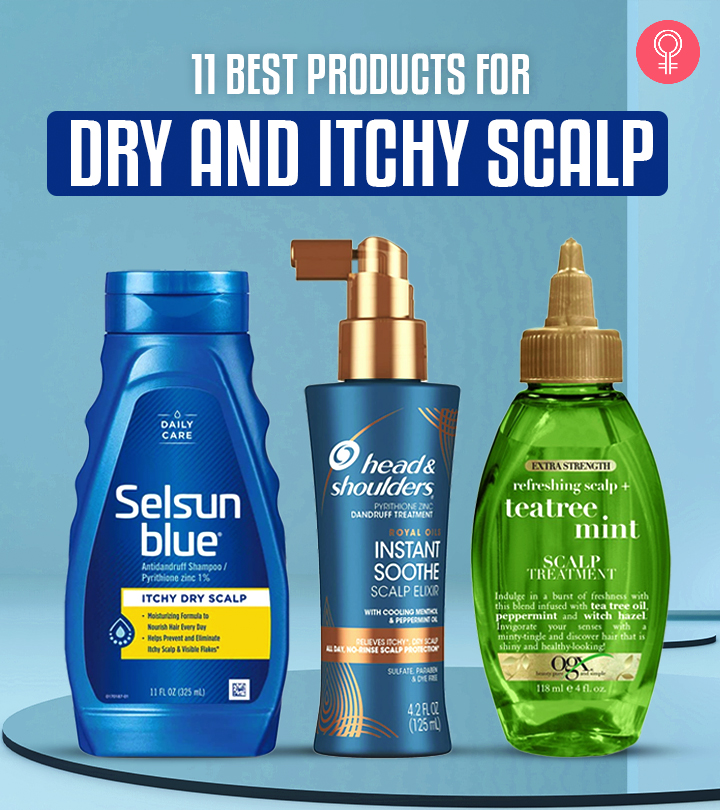 11 Best Products For Dry And Itchy Scalp
