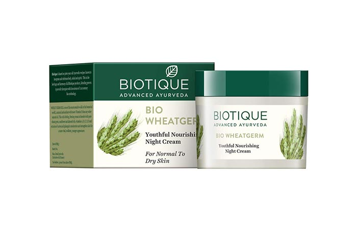 Biotique Bio Wheatgerm Youthful Nourishing Night Cream