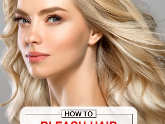 Bleaching Your Hair With Hydrogen Peroxide And Baking Soda