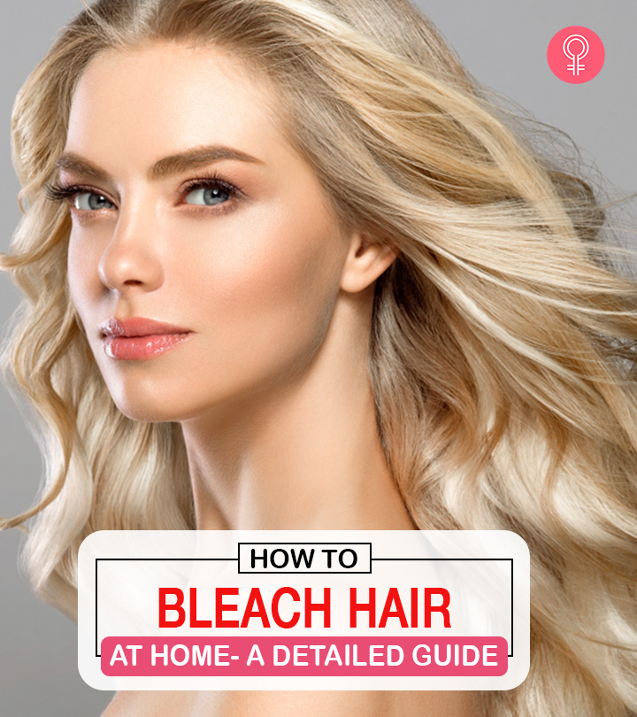 Bleaching Your Hair With Hydrogen Peroxide And Baking Soda – A Step By Step Guide