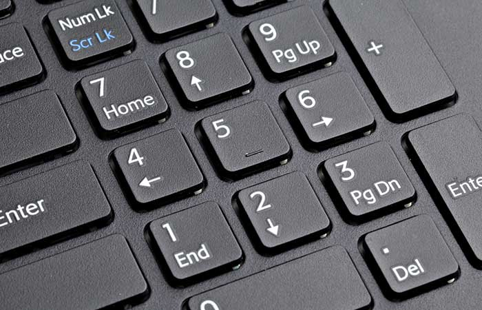 Computer Keyboards With Number Pads