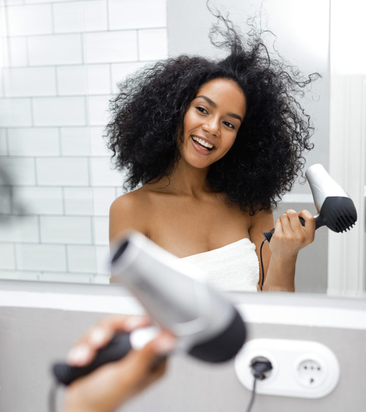 How to Blow Drying Curly Hair?