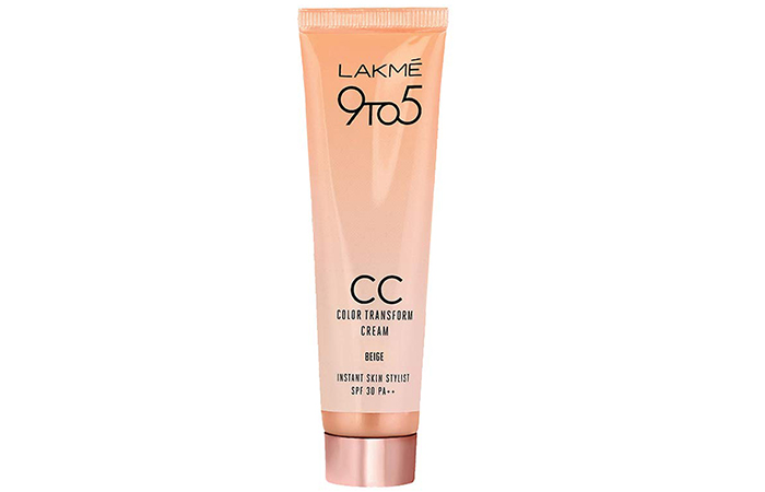 Lakme 9TO5 CC Color Transform Cream