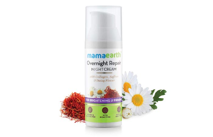 Mamaearth Overnight Repair Night Cream
