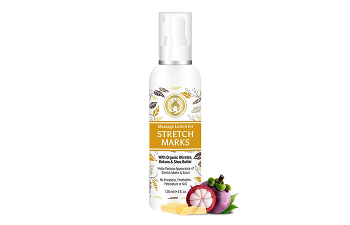Mom World Massage Lotion For Stretch Marks
