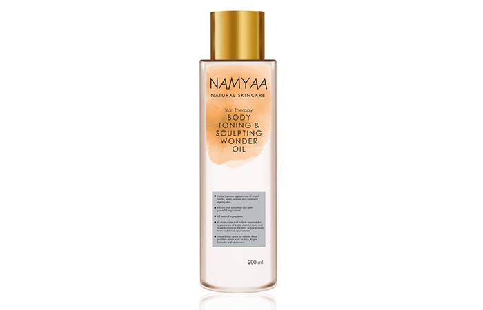 Namyaa Skin Therapy Body Toning Sculpting Wonder Oil