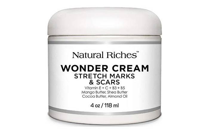 Natural Riches Wonder Cream Stretch Mark Scars