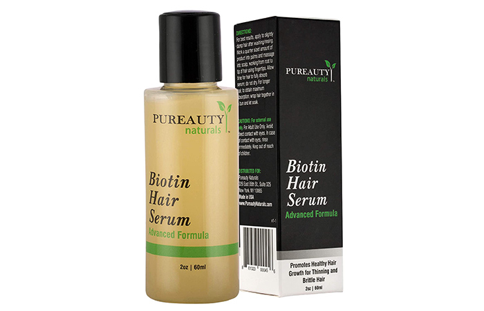 PUREAUTY Naturals Biotin Hair Serum
