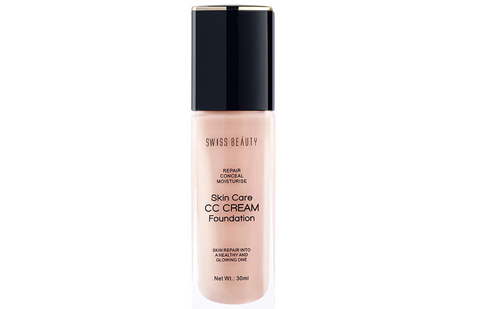 SWISS Beauty Skin Care CC Cream Foundation