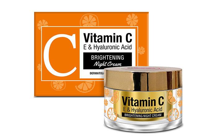 St.Botanica Vitamin C, E & Hyaluronic Acid Brightening Night Cream