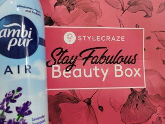Ambipur Air Freshener Lavender Bouquet pic 1-MESMERIZING FRAGRANCE-By sakshicious_eskay