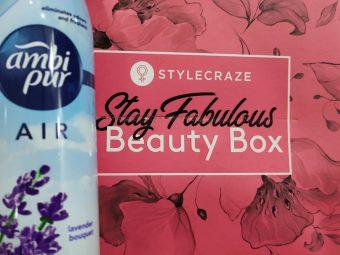 Ambipur Air Freshener Lavender Bouquet pic 3-MESMERIZING FRAGRANCE-By sakshicious_eskay