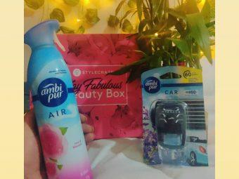 Ambipur Car Air Freshener Lavender Spa -Refreshing aroma.-By nayakaishwarya