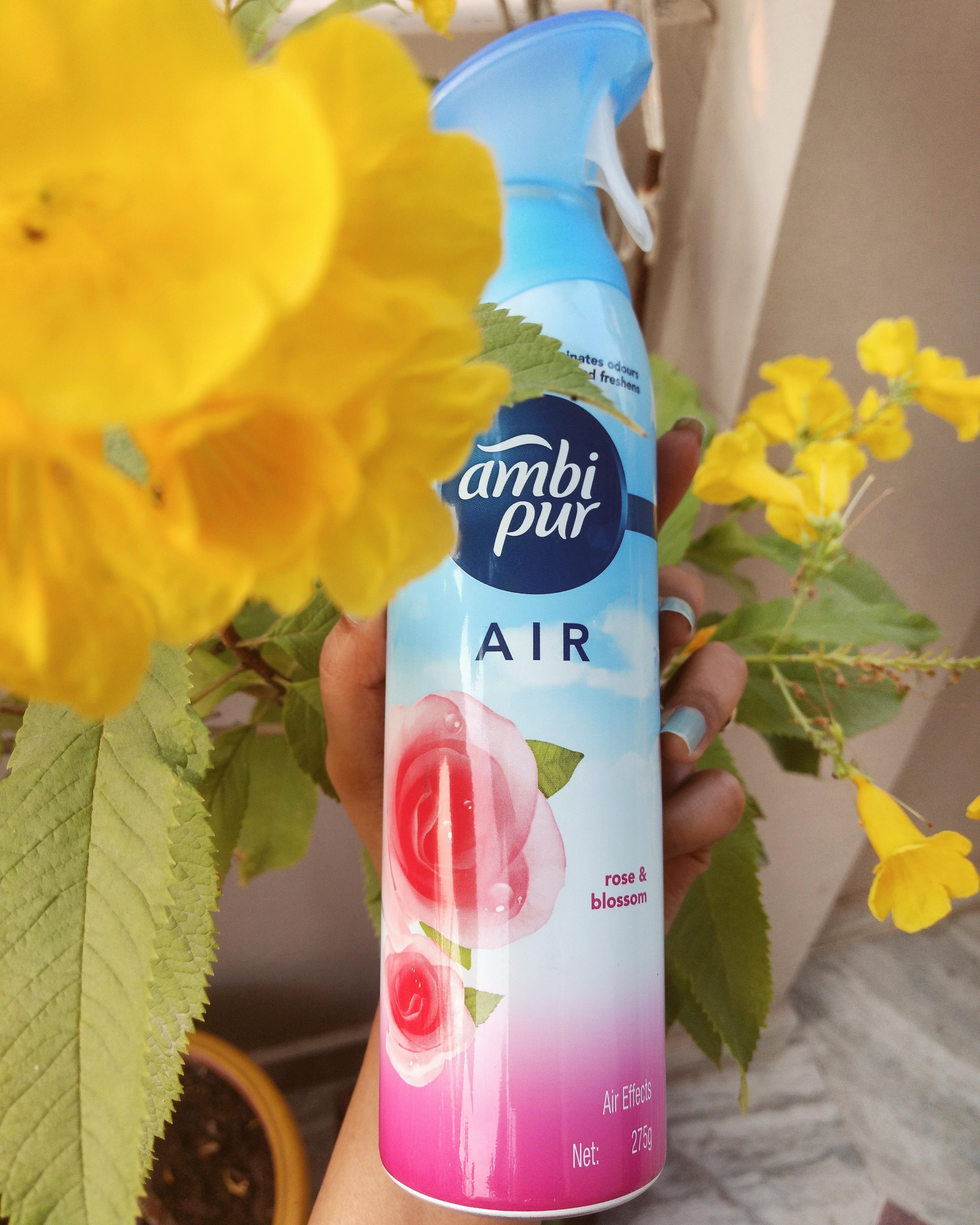 Ambi Pur Air Freshener – Rose and Blossom -Exotic fragrance-By gupta_komal