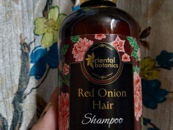 Oriental Botanics Red Onion Hair Shampoo -best onion shampoo-By bractbeauty