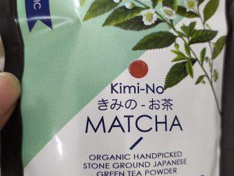 Kimino Japanese Organic Matcha Green Tea Powder pic 2-So refreshing-By fooddestination