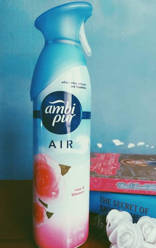 Ambi Pur Air Freshener – Rose and Blossom -Very nice fragnance-By nehagupta17