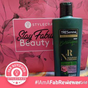 Tresemme Botanique Nourish And Replenish Shampoo -Best for chemical treated hair-By navbamrah