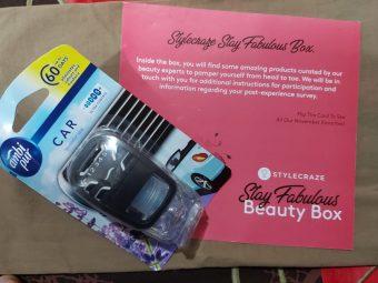 Ambipur Car Air Freshener Lavender Spa pic 2-HEART WINNING FRAGRANCE-By sakshicious_eskay