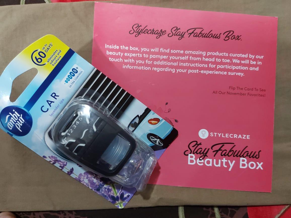 Ambipur Car Air Freshener Lavender Spa-HEART WINNING FRAGRANCE-By sakshicious_eskay-2