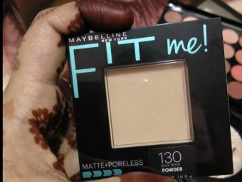 Maybelline Fit Me Matte And Poreless Powder -Maybelline fit me matte and poreless powder-By pranuu