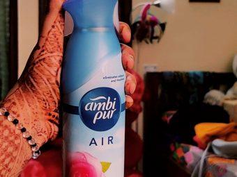 Ambi Pur Air Freshener – Rose and Blossom -I swear the best freshner-By aishwarya_chowdhary