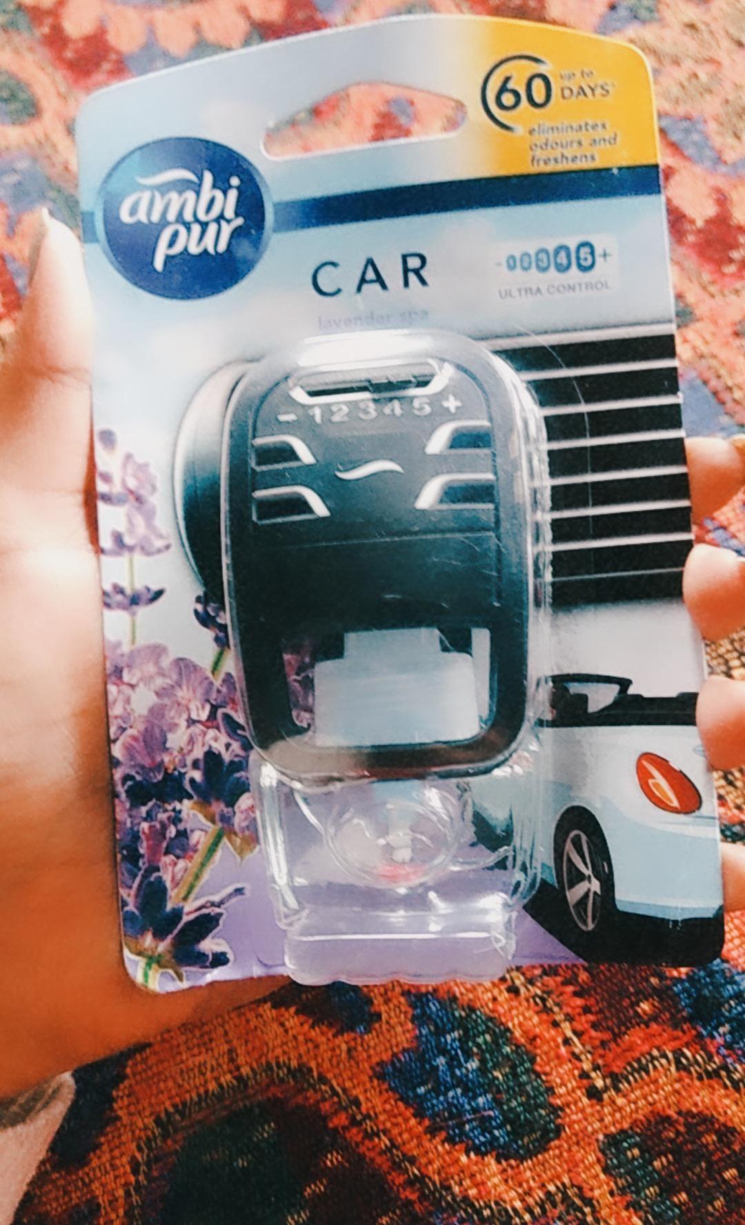 Ambipur Car Air Freshener Lavender Spa-Mild fragrance-By gupta_komal