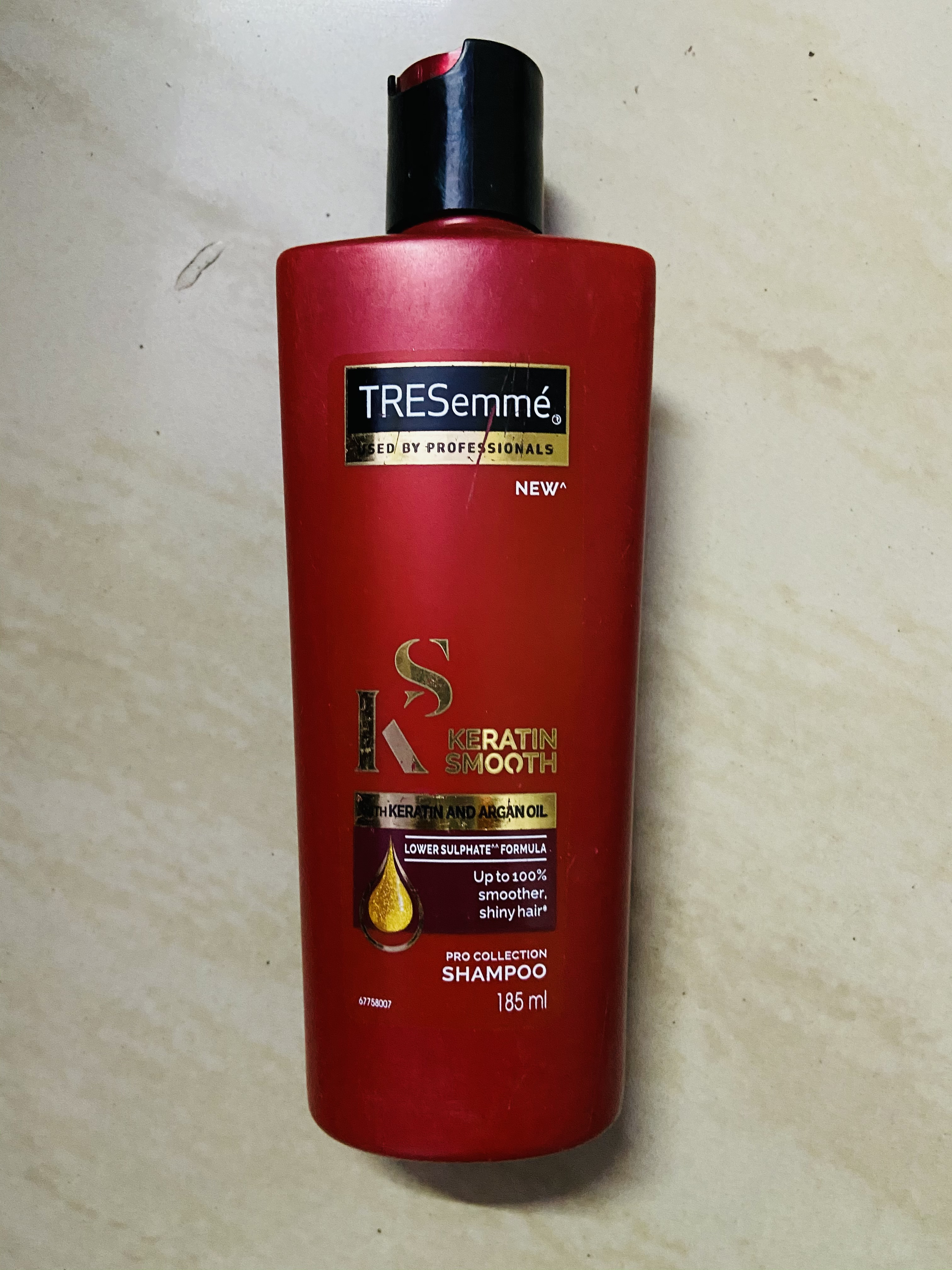 Tresemme Keratin Smooth Infusing Shampoo-Salon like Results-By gargiv