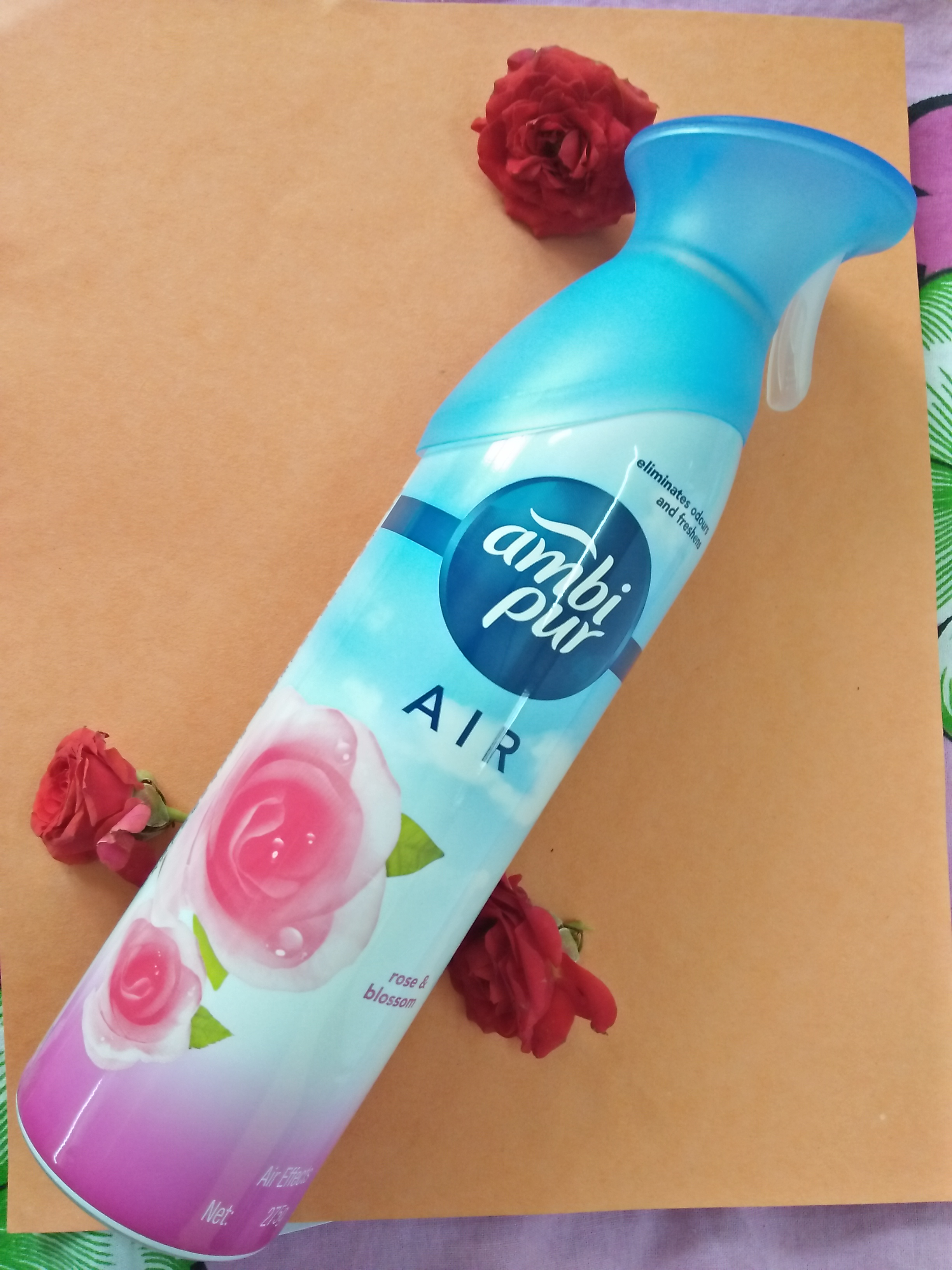Ambi Pur Air Freshener – Rose and Blossom -Air freshener with Exotic Fragrance-By nishchitha
