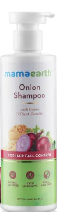Mamaearth Onion Hair Fall Shampoo for Hair Growth & Hair Fall Control-Mama mine-By kosiriddy_likhitha