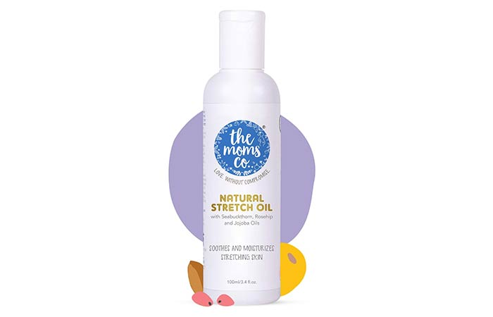 the moms co. Natural Stretch Oil