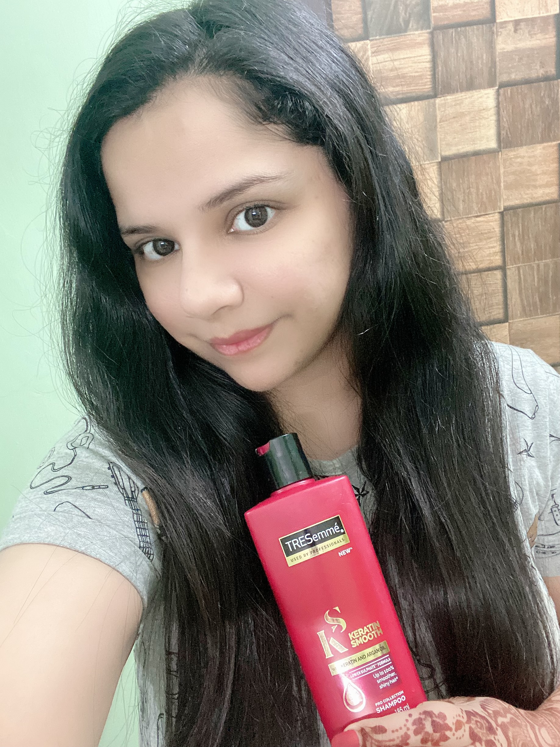 Tresemme Keratin Smooth Infusing Shampoo-Best as always-By megha19